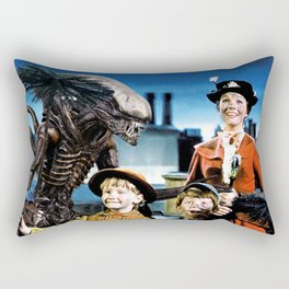 Alien in Mary Poppins Rectangular Pillow