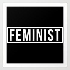 Feminist 2 Art Print