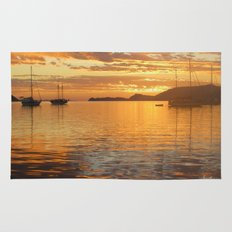 Sunrise on the Sea of Cortez. Rug