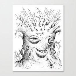 Tree Oddity Canvas Print