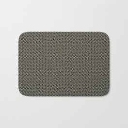 Faux Chainmail over Canvas Bath Mat