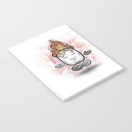 Mellow Mallow - Meditation Marshmallow Notebook