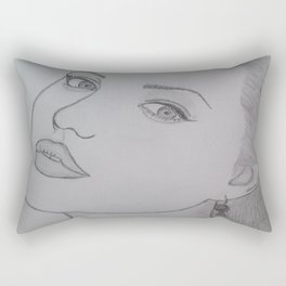 Angelina Jolie Rectangular Pillow