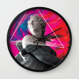 Persephone Trips the Light Fantastic Wall Clock