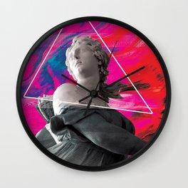 Persephone Trips the Light Fantastic Wall Clock