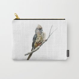 Speckled Mousebird by Teresa Thompson Carry-All Pouch