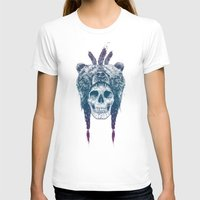 dead T-shirts featuring Dead shaman by Balazs Solti