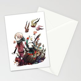 mondtochter the parade Stationery Cards