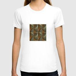 Rotating squares T-shirt