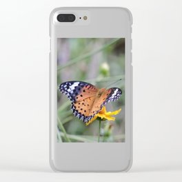 Indian Fritillary in Hangzhou Clear iPhone Case