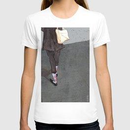 Argyle Socks by Kat Mills T-shirt