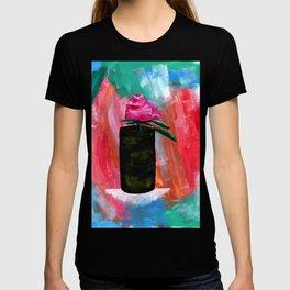Rose in Copper Vase T-shirt