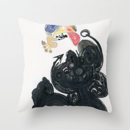 Cherokee made simple Throw Pillow
