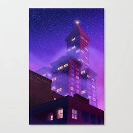 Smith Tower Canvas Print