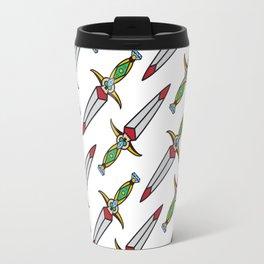 taditional Dagger pattern Travel Mug