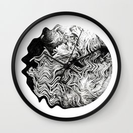 FLUID Wall Clock