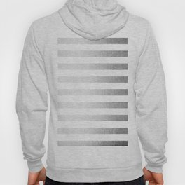 Simply Striped Moonlight Silver Hoody