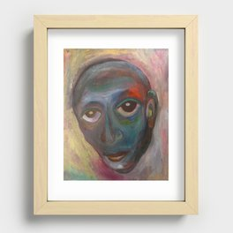 Blues Recessed Framed Print