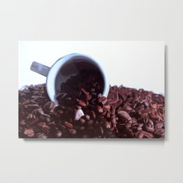 coffee addiction 2 Metal Print