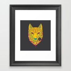 The Unbridled Anger of a Decapitated Direwolf Framed Art Print