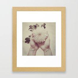 light & sound Framed Art Print