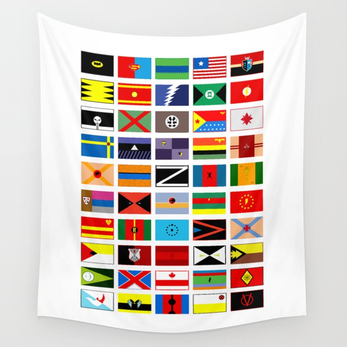 SH as flags Wall Tapestry
