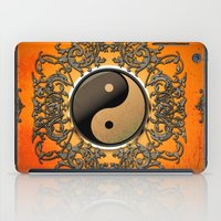 ying yang iPad Cases featuring Ying and yang by nicky2342