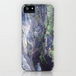 Maligne Canyon 1 iPhone Case