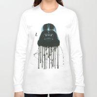 darth vader Long Sleeve T-shirts featuring Darth Vader by McCoy