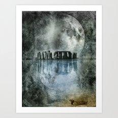 Dreamscape - Stonehenge Art Print