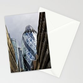 The Gherkin Melting Stationery Cards