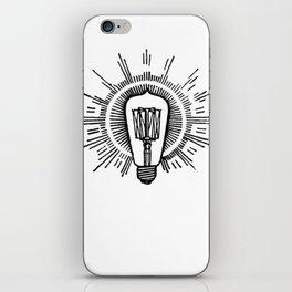 Lightbulb iPhone Skin
