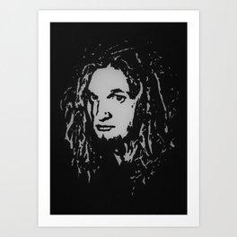 Layne Staley - Alice in Chains Art Print