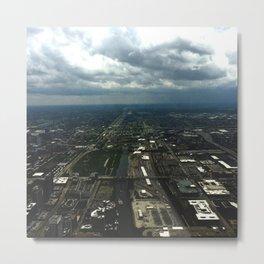 Sky View Chicago Metal Print