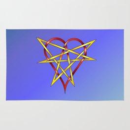 HeartStar Knot Rug