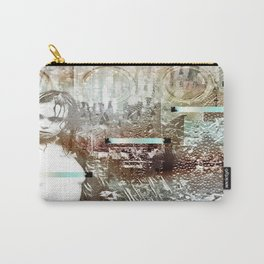 Staples and Portholes Carry-All Pouch