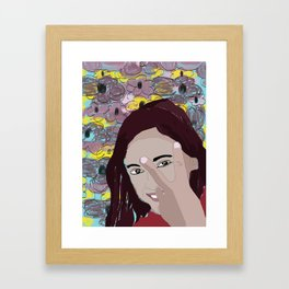 Tweenage Peace Framed Art Print