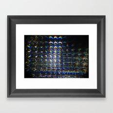 Reflection of a Reflection of a Reflection Framed Art Print
