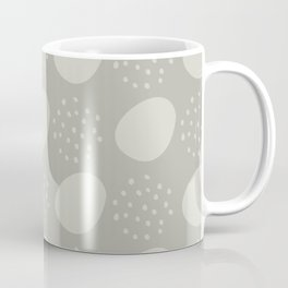 Abstract Dots in Stone Coffee Mug