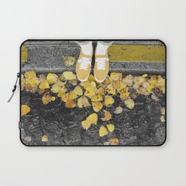 snickers and leaves Laptop Sleeve