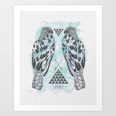 Hawks Art Print