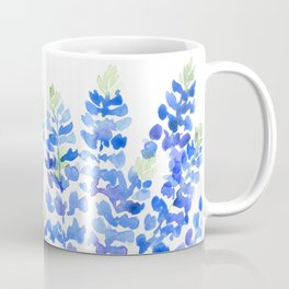 Watercolor Texas bluebonnets Coffee Mug