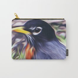 Red Breast Carry-All Pouch