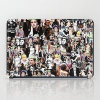 niall iPad Cases featuring Punk Niall Horan College by Becca / But-Like-How