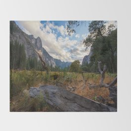 In the Valley. Throw Blanket