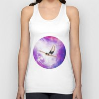 diver Tank Tops featuring Galaxy Diver by Isabella Bubola