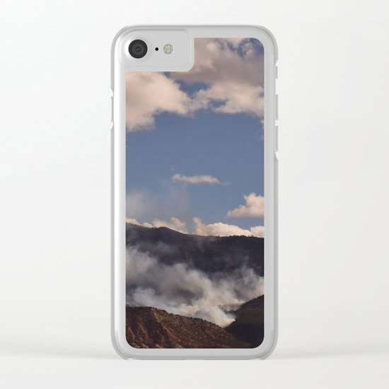 Cedar City Forest Fire - I Clear iPhone Case