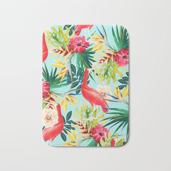 Hawaiian Vibe #society6 #decor #buyart Bath Mat