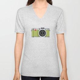 Leica X1 Camera Unisex V-Neck