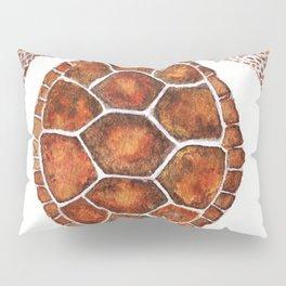 Turtle,Shell, Tortoise, Sealife, Lover, Animal Love, Brown Turtle, Wildlife, Turtle Lover, Turtles Pillow Sham